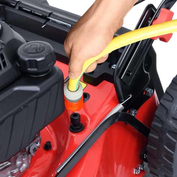 Mașină tuns iarba benzină 4-în-1, electric, 51 cm oțel 4,6 CP