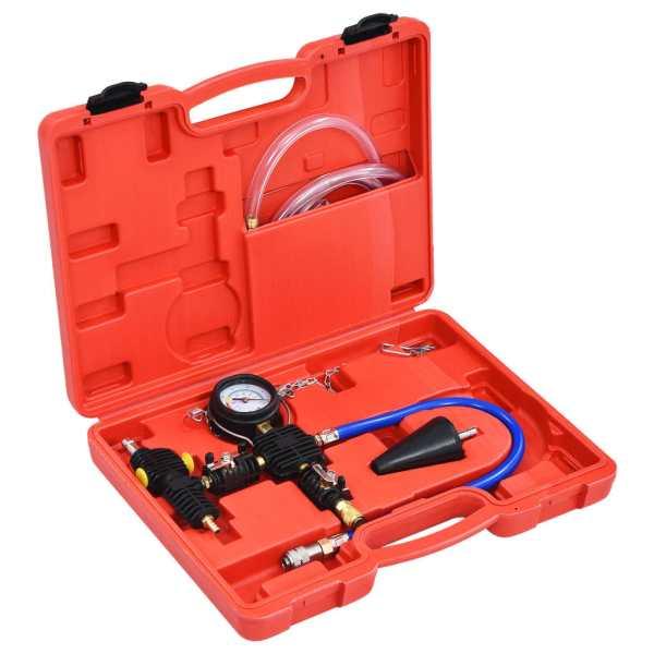 vidaXL Kit universal încărcare și aerisire în vid pentru sistem răcire