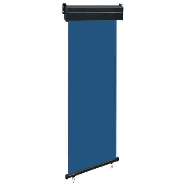 vidaXL Copertină laterală de balcon, albastru, 60 x 250 cm
