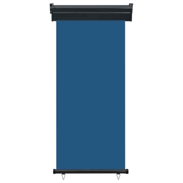 vidaXL Copertină laterală de balcon, albastru, 80 x 250 cm