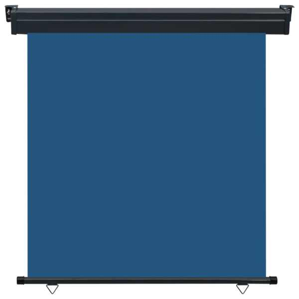 vidaXL Copertină laterală de balcon, albastru, 170 x 250 cm