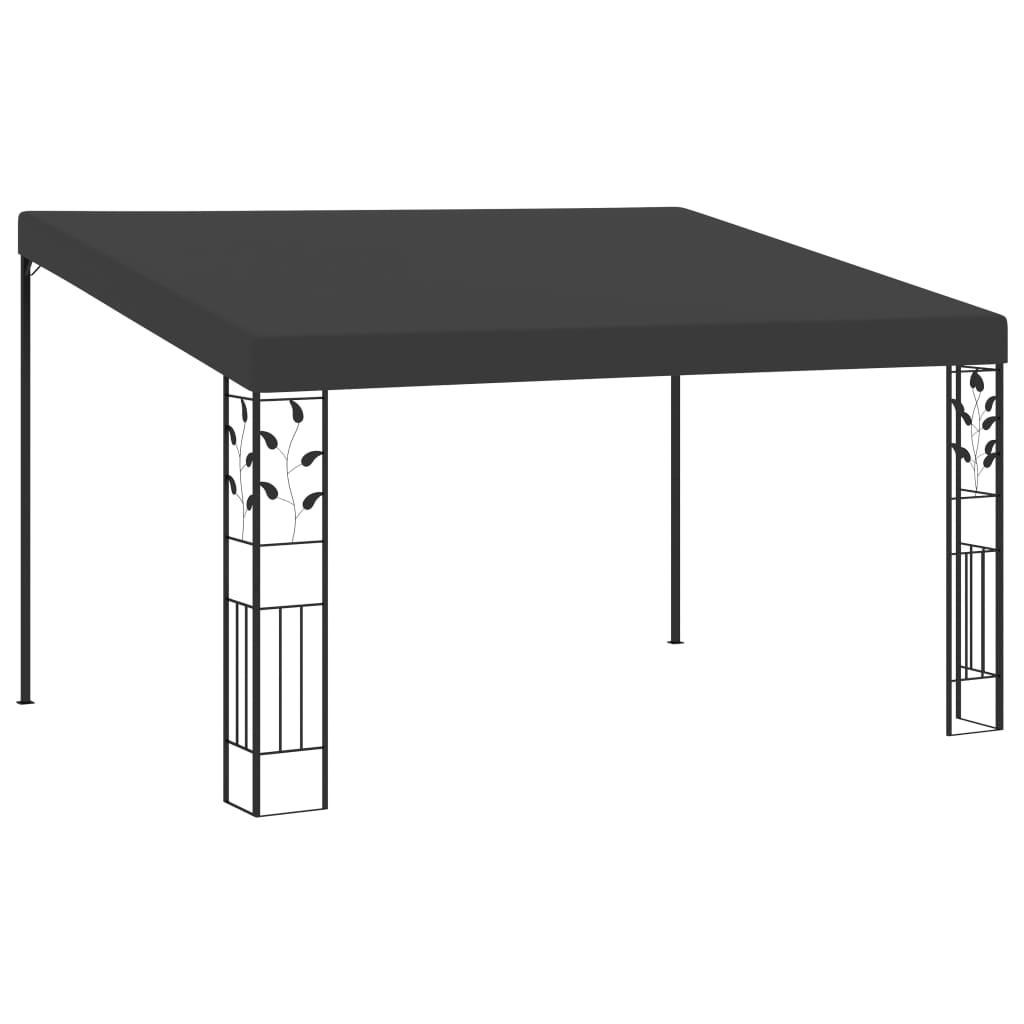 vidaXL Pavilion de perete, antracit, 4 x 3 x 2,5 m