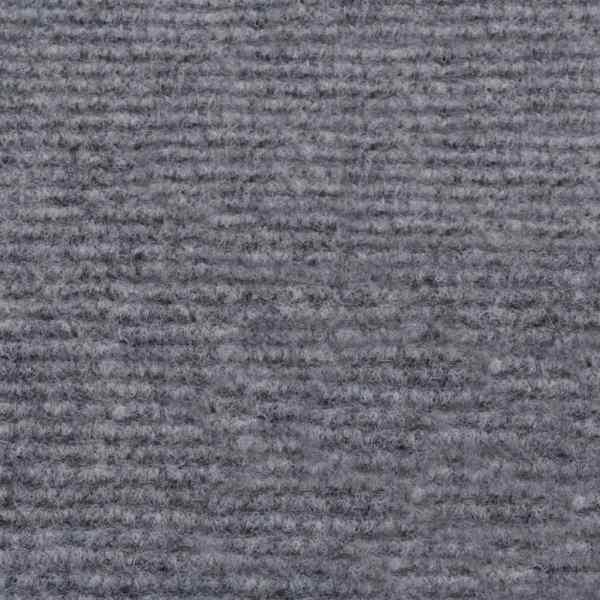 vidaXL Covor pentru expoziții striat, gri, 1,6 x 15 m