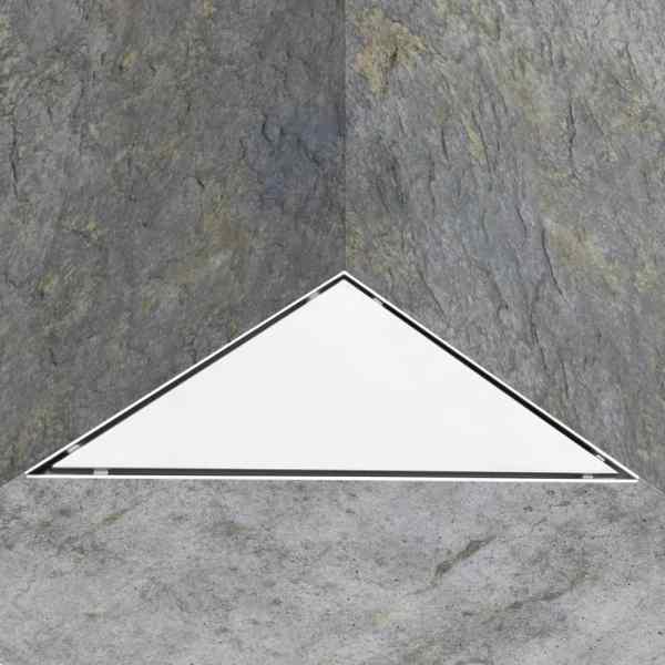 Rigolă de duș cu capac 2-în-1, 25 x 25 cm, oțel inoxidabil