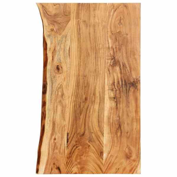 vidaXL Blat lavoar de baie, 100 x 55 x 3,8 cm, lemn masiv de acacia
