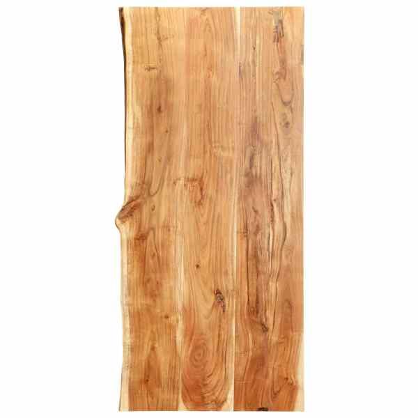 vidaXL Blat lavoar de baie, 120 x 55 x 3,8 cm, lemn masiv de acacia