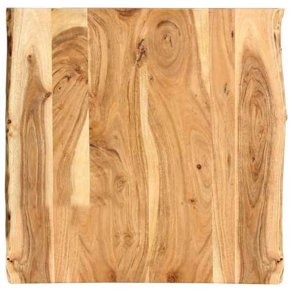 vidaXL Blat de masă, 60x60x2,5 cm, lemn masiv de acacia