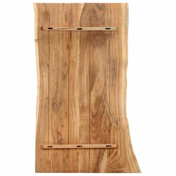 Blat de masă, 100x60x2,5 cm, lemn masiv de acacia