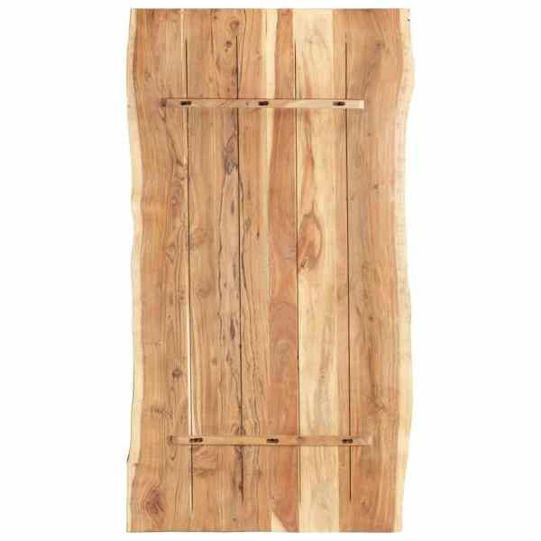 Blat de masă, 120x60x3,8 cm, lemn masiv de acacia