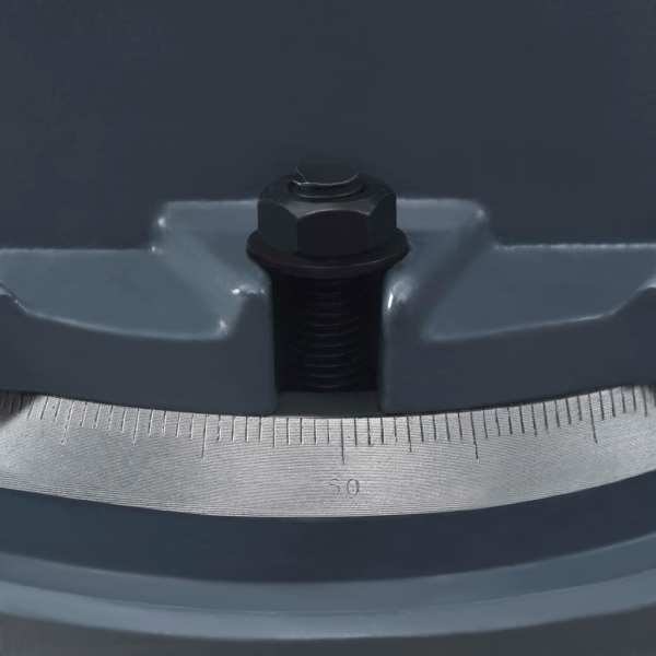 vidaXL Menghină pivotantă, 85 mm, fontă