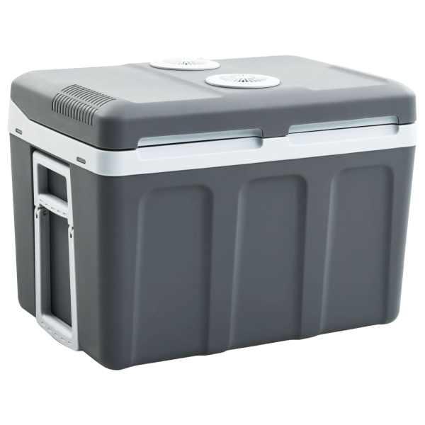 vidaXL Ladă frigorifică termoelectrică portabilă 45 L 12 V 230 V A++