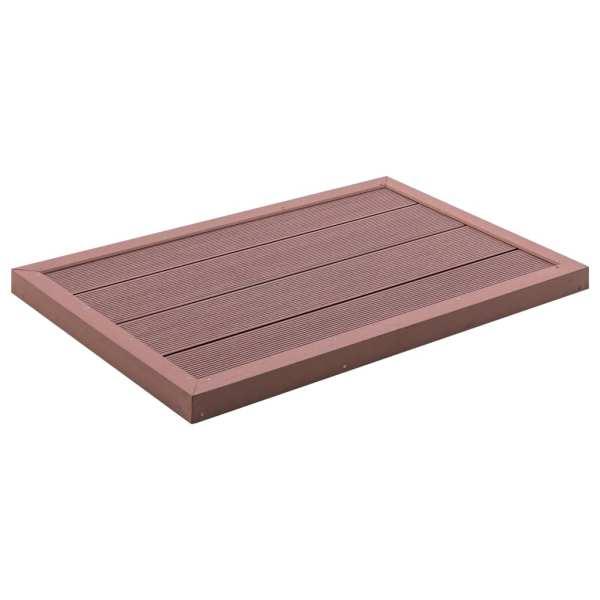 vidaXL Element de podea pentru duș solar, 101 x 63 x 5,5 cm, WPC