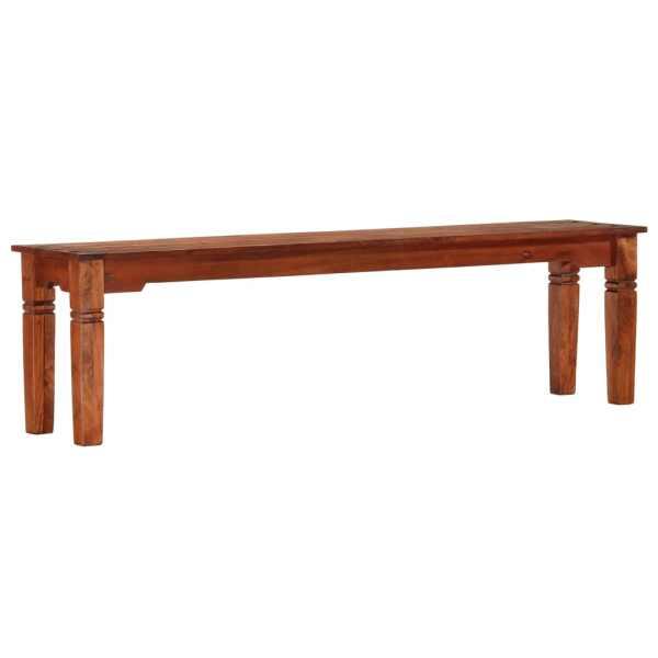 vidaXL Bancă, 160 cm, lemn masiv de acacia