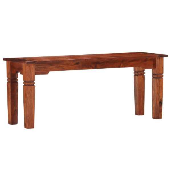 vidaXL Bancă, 110 cm, lemn masiv de acacia