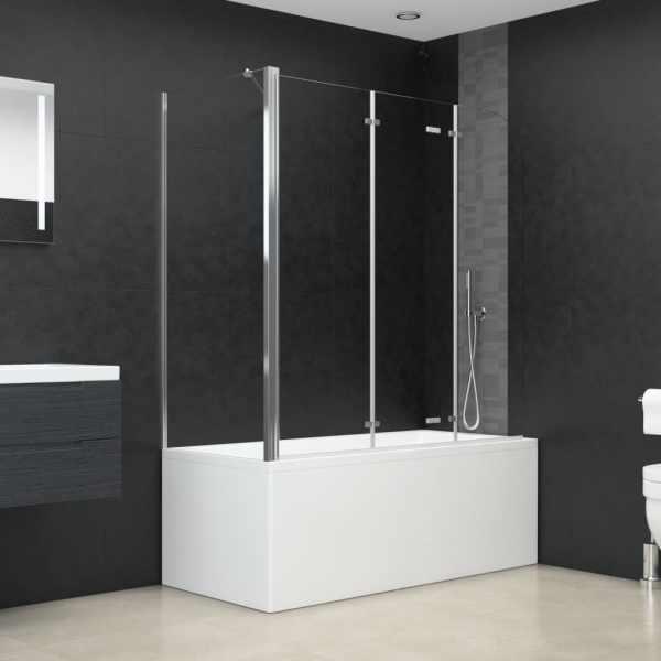 Cabină de baie, 120x69x130 cm, sticlă securizată, transparent