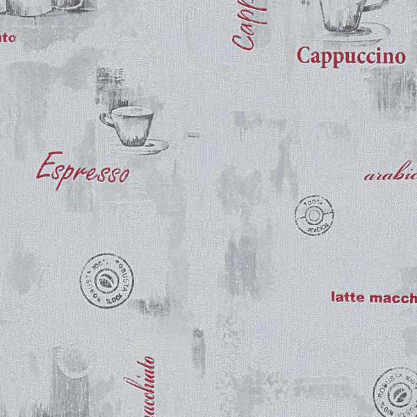 vidaXL Role de tapet nețesut 2 buc. alb 0,53 x 10 m cafea