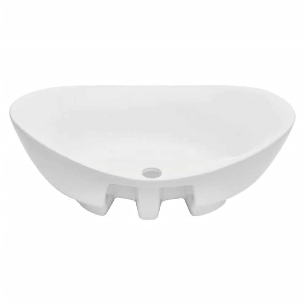 Set mobilier de baie, 2 piese, negru, ceramică