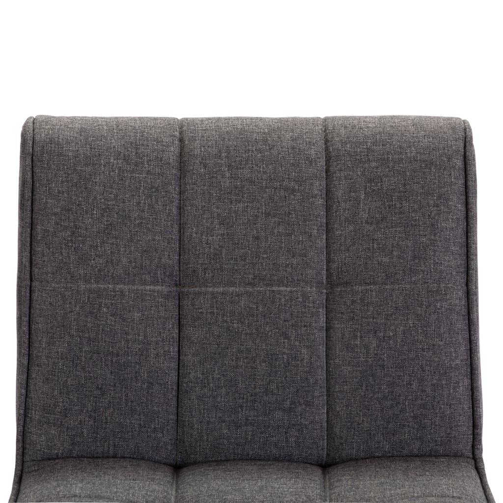 Set mobilier bar 3 piese negru și gri închis (249610 + 249666)