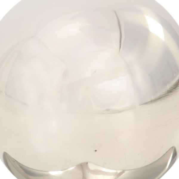 Capace stâlpi tip glob, 6 buc., 91 x 91 mm, oțel inoxidabil