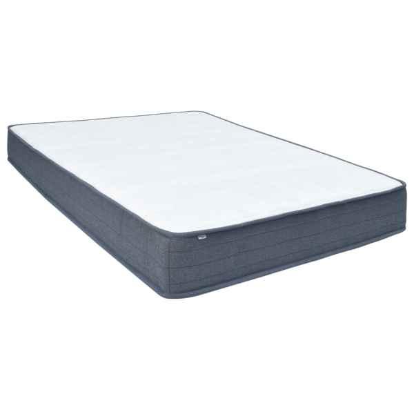 vidaXL Saltea pentru pat cu arcuri, 200 x 160 x 20 cm