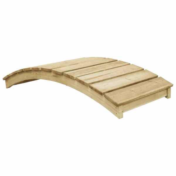 vidaXL Pod de grădină, 170 x 74 cm, lemn de pin tratat