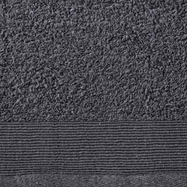 Set prosoape saună, 2 buc, antracit, 80×200 cm, bumbac, 450 gsm