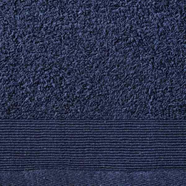 vidaXL Prosoape de duș, 2 buc., bleumarin, 70×140 cm, bumbac, 450 gsm