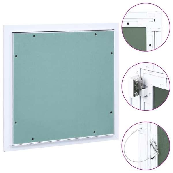 vidaXL Trapă de acces din gips-carton, cadru de aluminiu, 300 x 300 mm