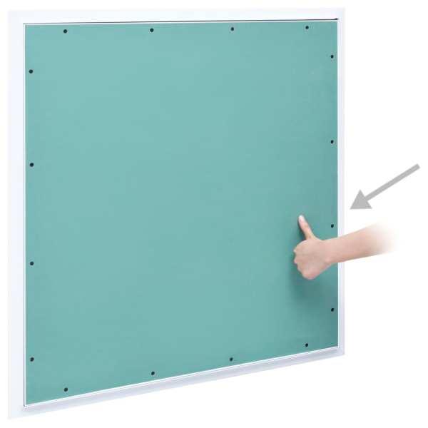 vidaXL Trapă de acces din gips-carton, cadru de aluminiu, 700 x 700 mm