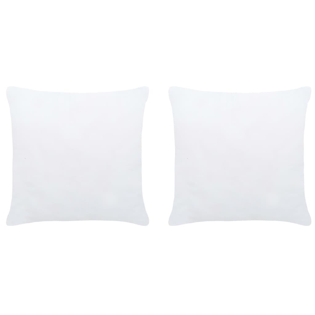 vidaXL Umpluturi de perne, 2 buc., alb, 40 x 40 cm