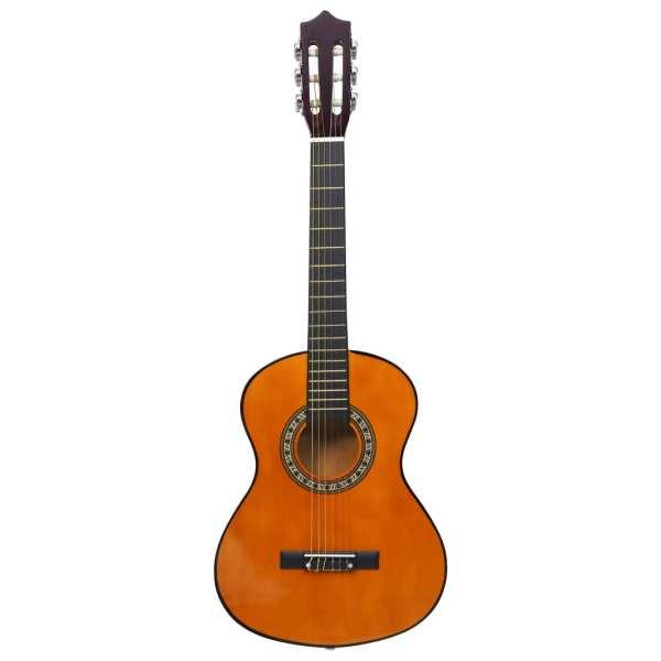 Chitară clasică începători și copii, 1/2 34″, lemn de tei