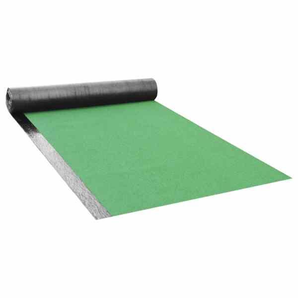 vidaXL Membrană bituminoasă acoperiș pâslă V60 S4, verde, 1 rolă, 5㎡