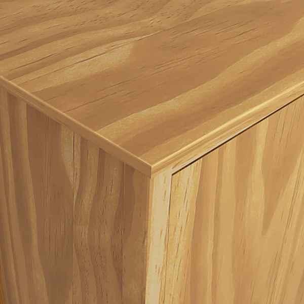 Șifonier cu 2 uși Hill Range, 99x45x137 cm, lemn masiv pin