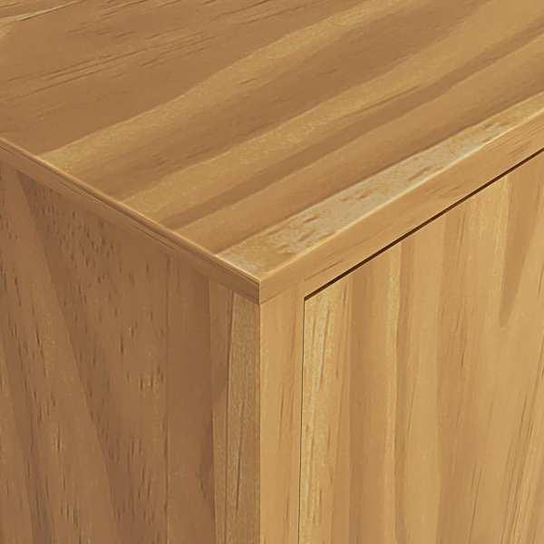 Șifonier cu 3 uși Hill Range 142x45x137cm lemn masiv de pin