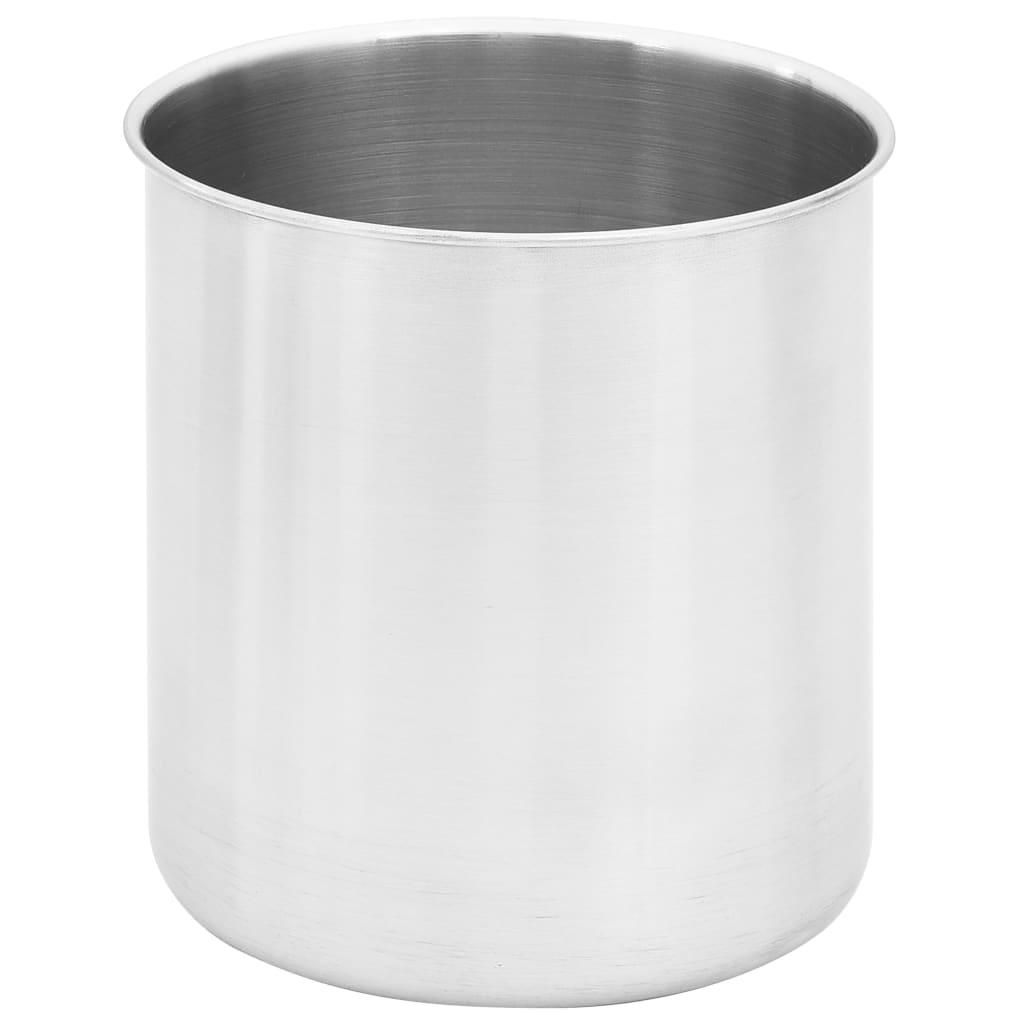 vidaXL Dozator de sos, 2 x 3,5 L, oțel inoxidabil