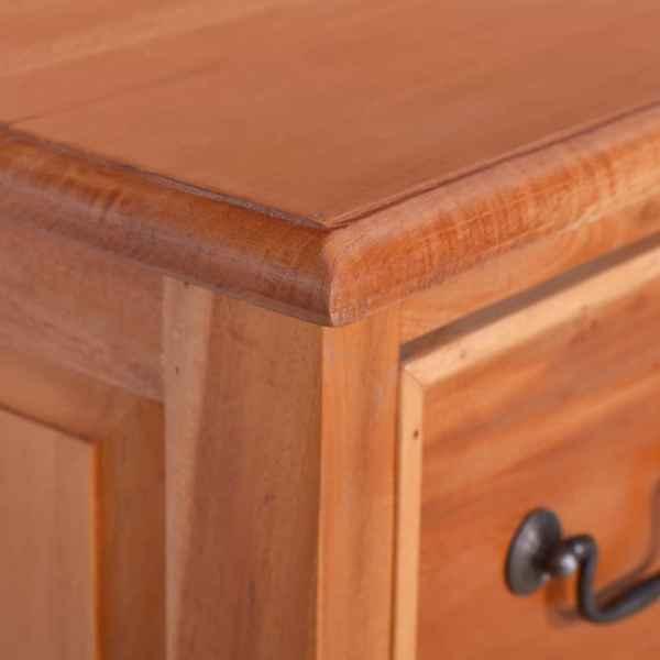 vidaXL Comodă cu sertare, lemn masiv de mahon