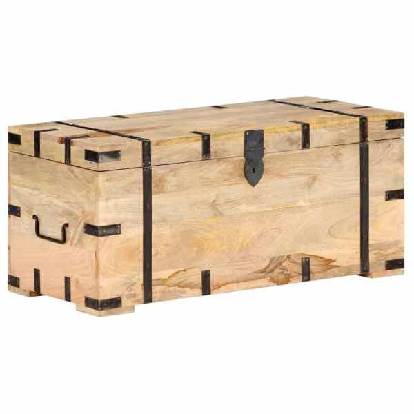 vidaXL Cufăr, 90 x 40 x 40 cm, lemn masiv de mango