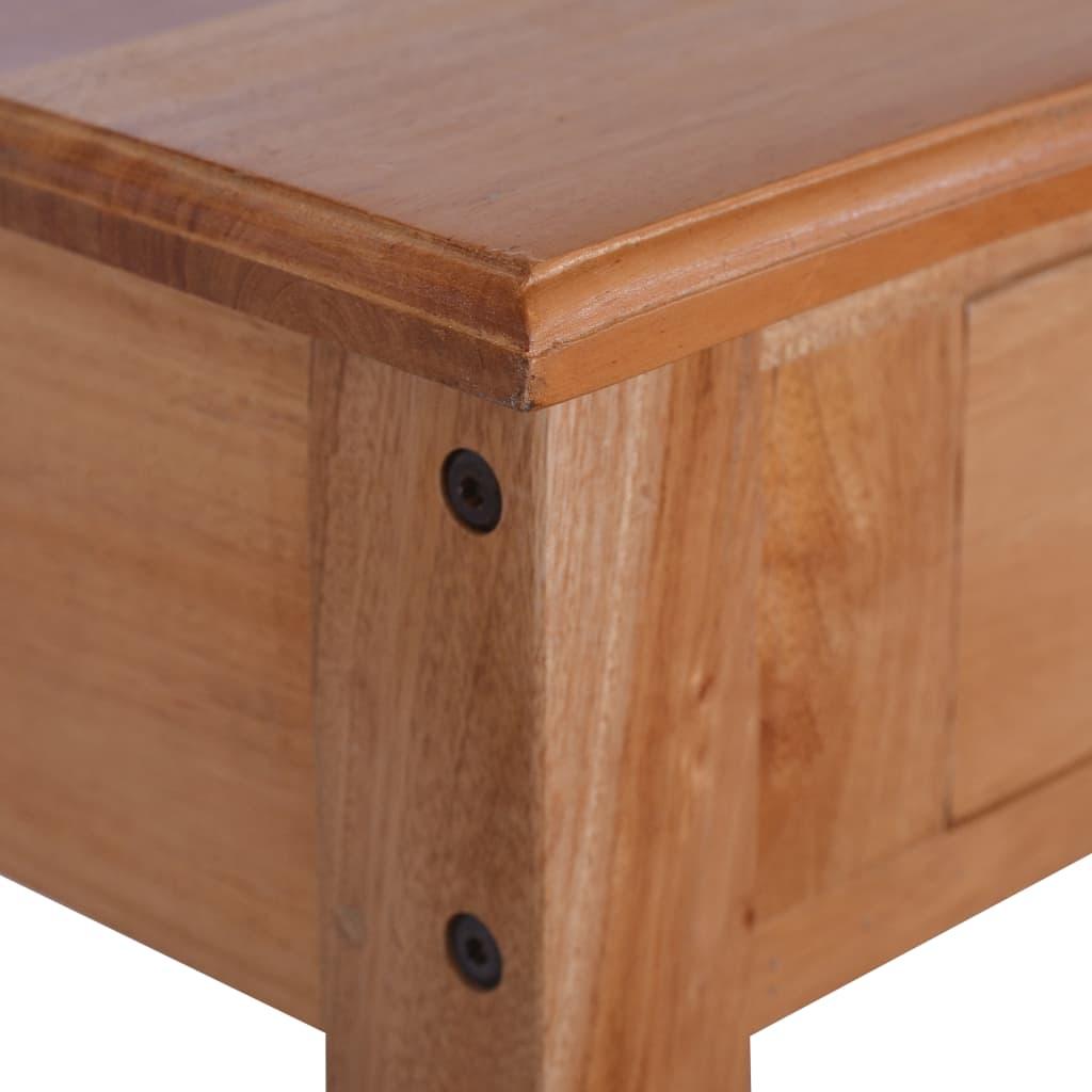 Masă consolă, 120 x 30 x 75 cm, lemn masiv de mahon