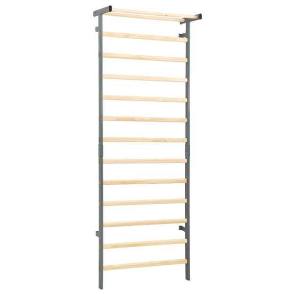 vidaXL Spalier pentru gimnastică, interior și exterior, 90x30x236 cm