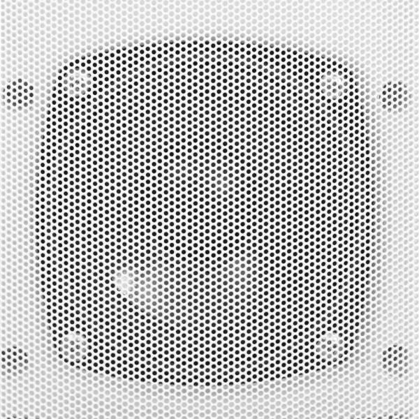 Boxe stereo de perete interior/exterior, 2 buc., alb, 80 W