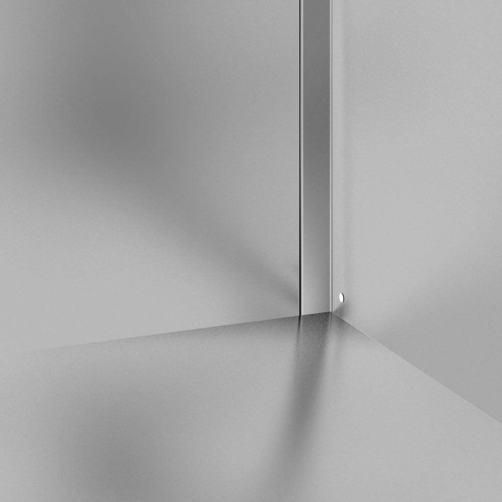 vidaXL Dulap comercial cu blat de lucru, 60x60x96 cm, oțel inoxidabil