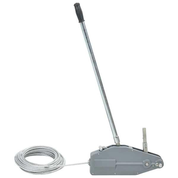 vidaXL Troliu de ridicare cu cablu de sârmă 800 kg