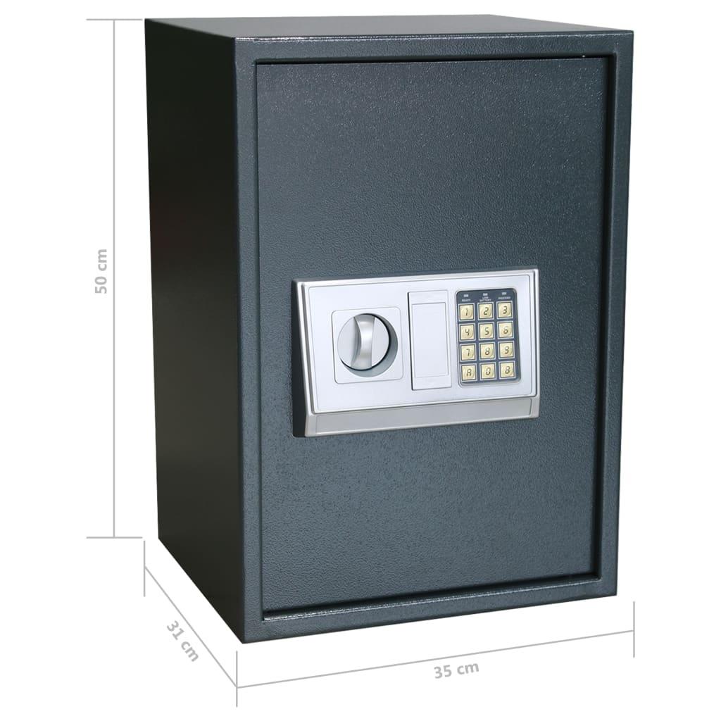 Seif digital electronic cu raft, 35 x 31 x 50 cm