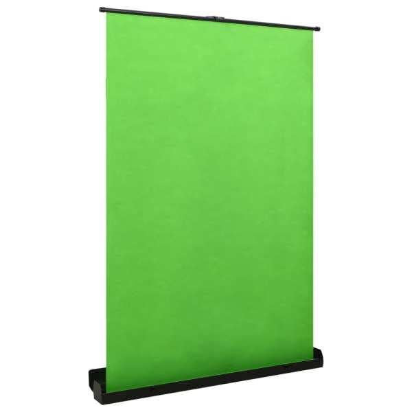 vidaXL Fundal pentru fotografii, verde, 60″ 4:3