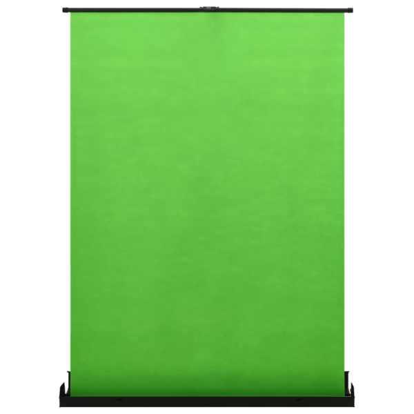vidaXL Fundal pentru fotografii, verde, 72″ 4:3
