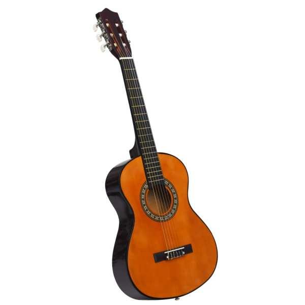 Chitară clasică pentru începători și copii, cu husă, 1/2 34″