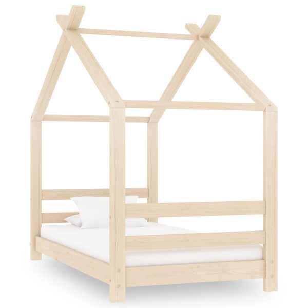 vidaXL Cadru pat de copii, 70 x 140 cm, lemn masiv de pin