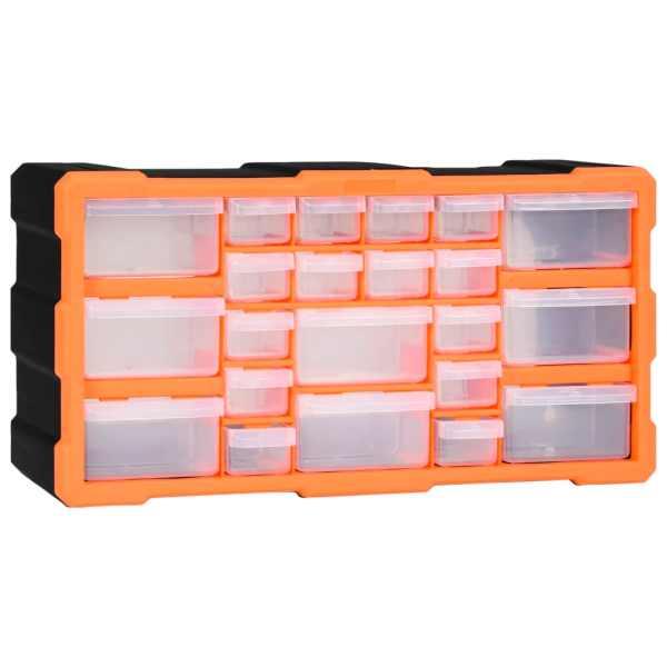 vidaXL Organizator cu 22 de sertare, 49 x 16 x 25,5 cm