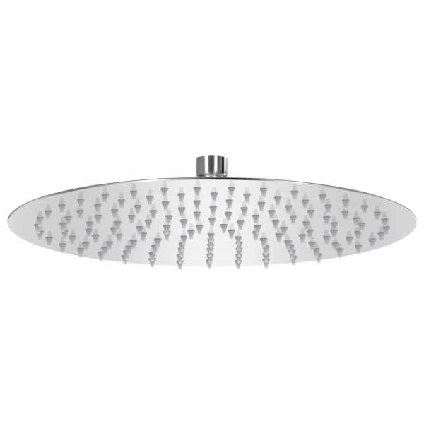 vidaXL Cap de duș tip ploaie rotund, 30 cm, oțel inoxidabil 304
