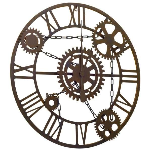 Ceas de perete, maro, 80 cm, metal